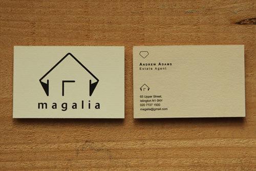 房地产创意名片设计欣赏