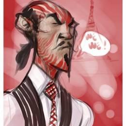 来自Kweli 的非常有意思的插画作品欣赏
