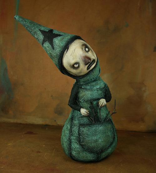 ScottRadke 乖戾的手工木偶
