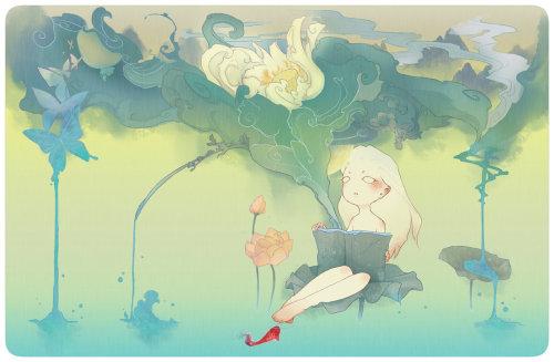 雷娘 插画作品欣赏