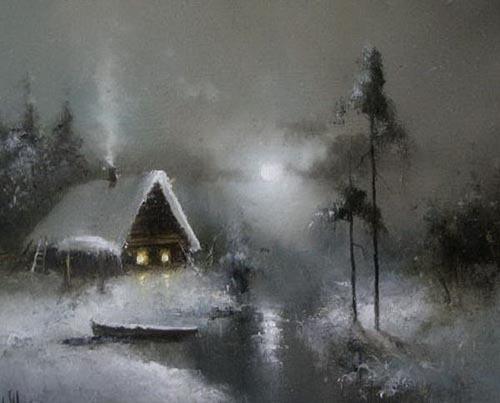 雪来的时候
