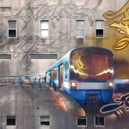 街头文化 个性涂鸦分享