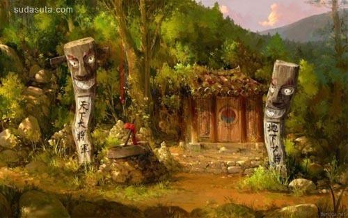 Jae-Cheol Park 游戏场景设计
