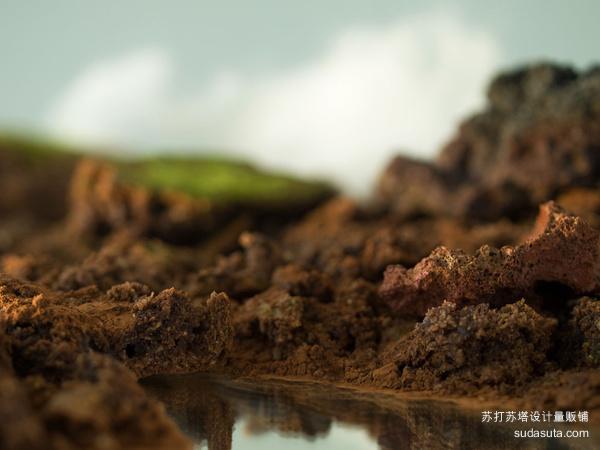 Eszter Burghardt 人工冰岛的风景