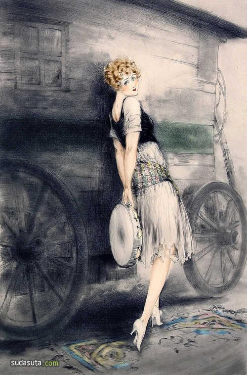 法国艺术家Louis Icart作品欣赏