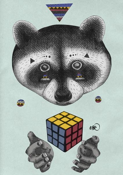 BÖRG 动物主题插画欣赏