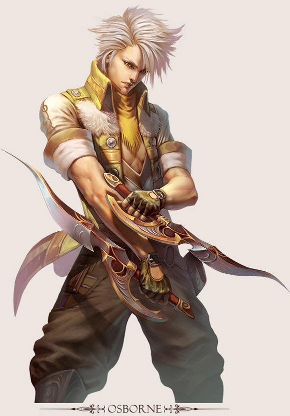 经典游戏角色设计CG分享