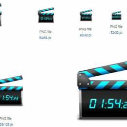 20个高质量的电影图标免费下载