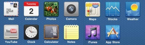 22个免费的高质量iPhone图标