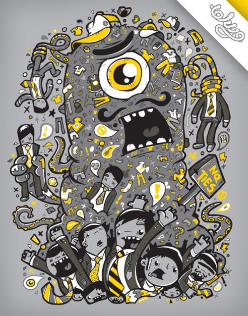 来自Greg Darroll的矢量插画欣赏