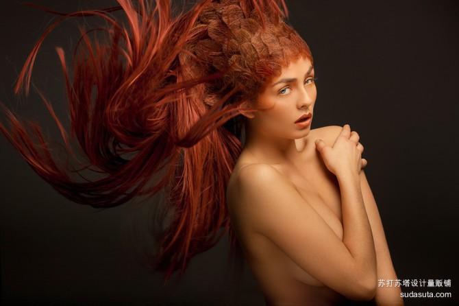 Hartmut Nörenberg 以发型设计为主题的摄影作品