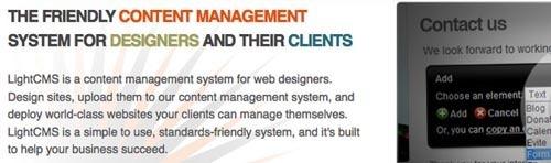 20个设计精制的网页排版设计