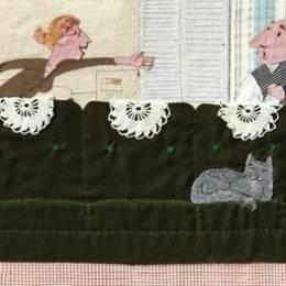 来自Lena Guberman的拼贴儿童作品欣赏