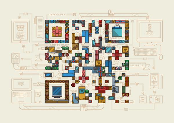奇特世界 QR Codes 设计