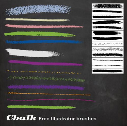 50套Adobe Illustrator笔刷免费下载
