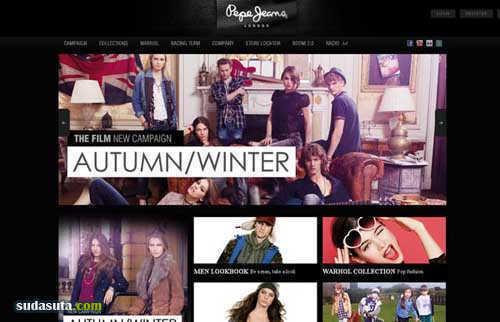 6个时尚网站设计
