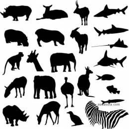 150+ 免费的矢量动物图形下载