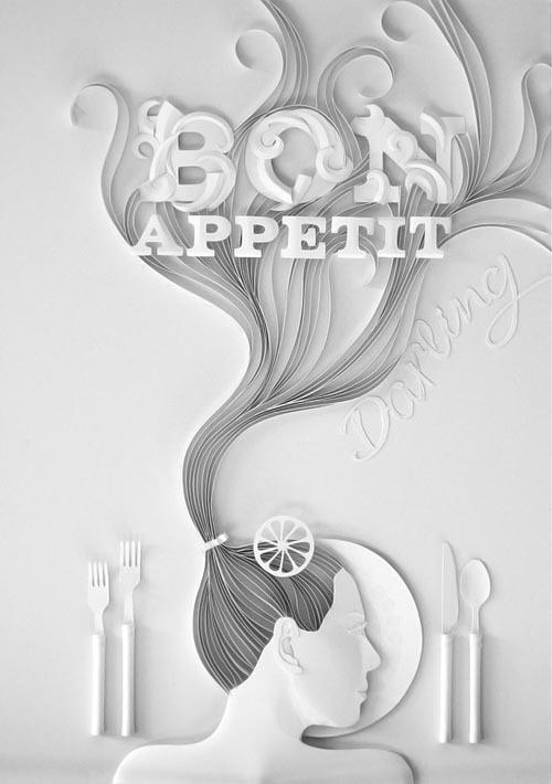 俄罗斯插画家 yulia brodskaya的剪纸艺术欣赏