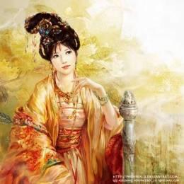 Phoenixlu 含蓄的中国风古典插画作品