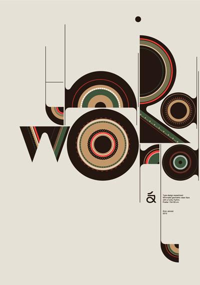 20张字体排版平面设计欣赏