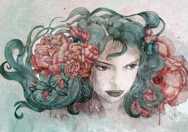 marineloup 细腻的手绘作品欣赏
