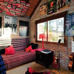 英国朋克摇滚风格室内设计欣赏