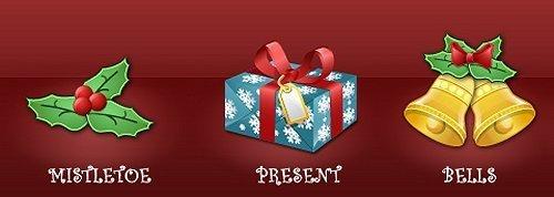 40个极好的圣诞节素材:壁纸,主题,图标,矢量素材,字体