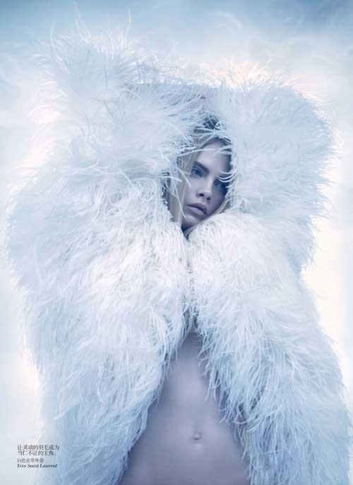 Sølve Sundsbø by Vogue China.