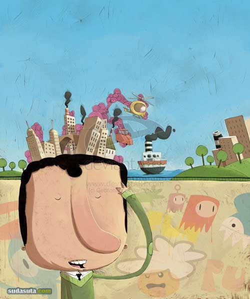 Berardo Baro 儿童插画欣赏