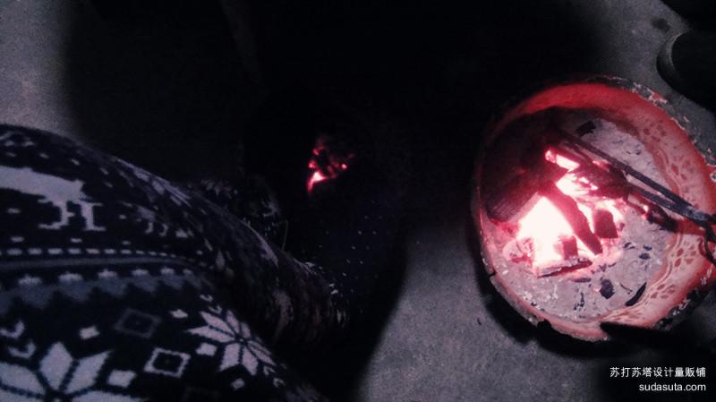 温热的炉火