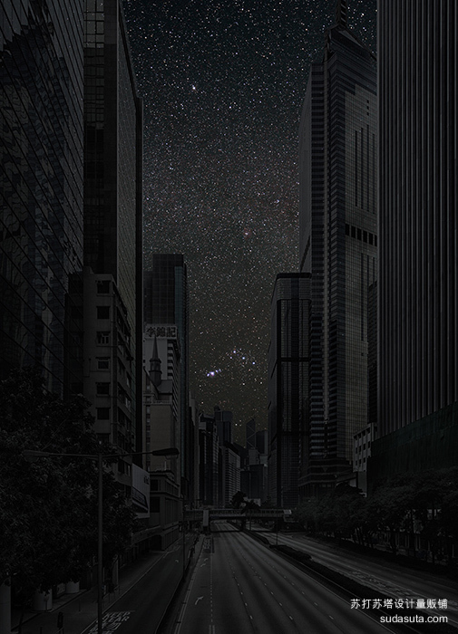 Thierry Cohen 城市的夜晚