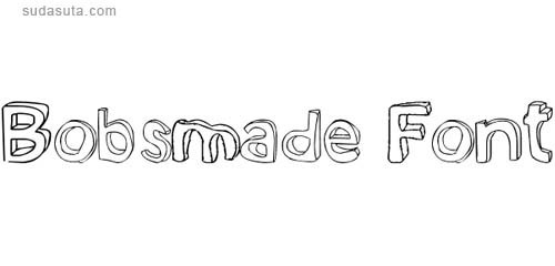 40个常用的3D效果免费英文字体下载