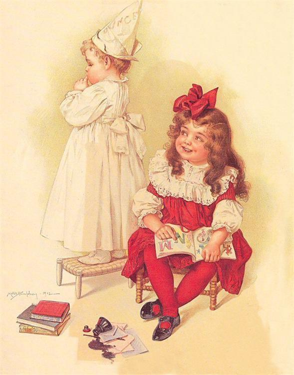 Maud Humphrey 古典主义插画作品欣赏