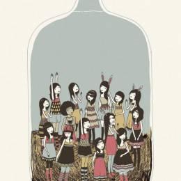 Yasmine 装在瓶子里世界