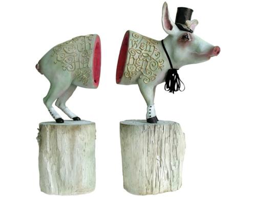来自Elizabeth McGrath 的精致雕塑