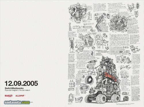 DongGeun Lee 手绘线条插画欣赏