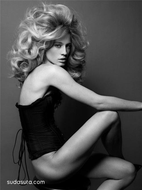 2008年POP杂志时尚头发摄影