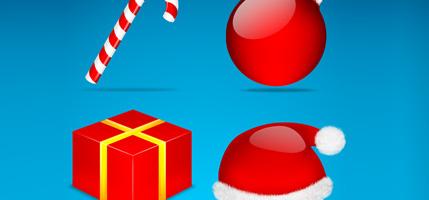 23套非常迷人的圣诞节图标