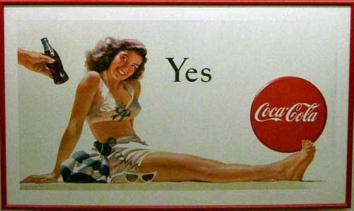 130个可口可乐的广告招贴欣赏(1)
