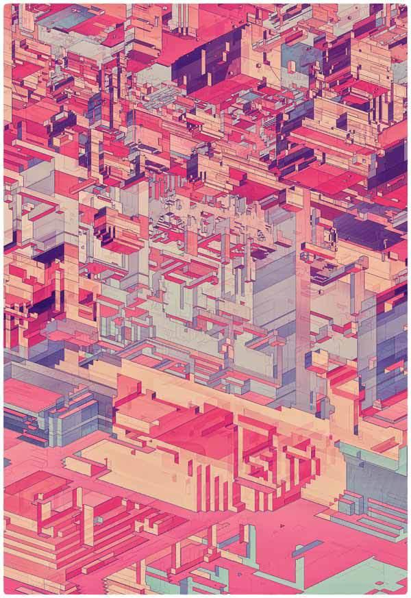 Atelier Olschinsky 抽象概念平面设计欣赏