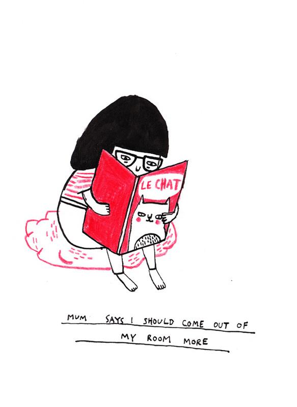 Gemma Correll 猫咪日记