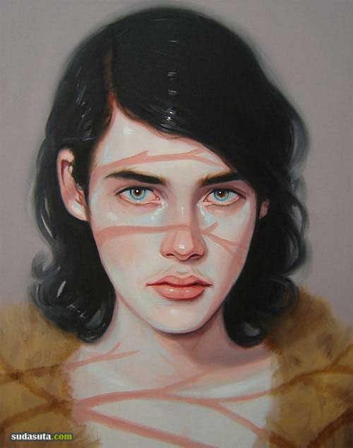 Kris Knight 肖像插画欣赏