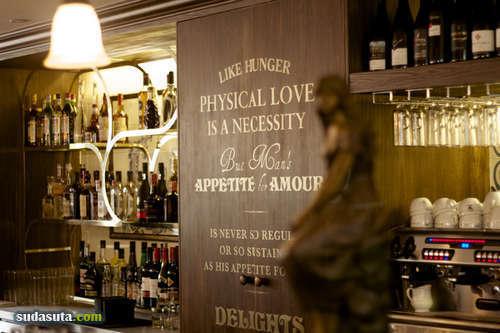 巴尔扎克的小酒馆 品牌形象设计