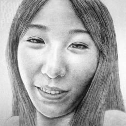 Koujirou Tomatsu 女性脸孔素描