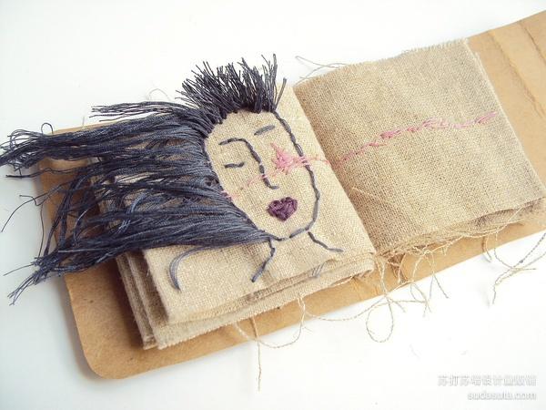 陈粉丸 手工布书《晚安集》
