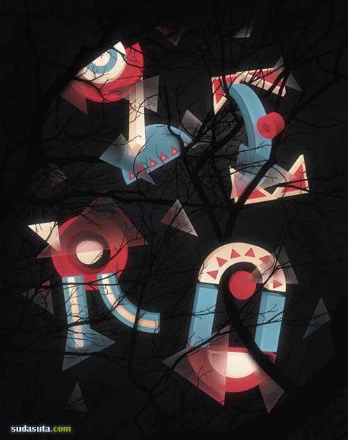 Tomas Brechler 3D立体平面设计欣赏