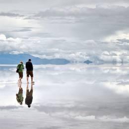 乌尤尼盐沼 天空之境