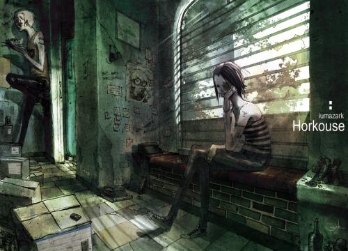 八月日式CG插画分享