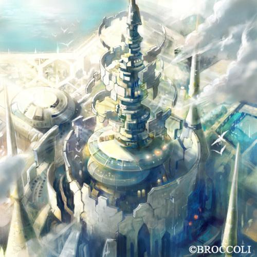 HiroUsuda 概念场景设计