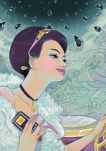 Natalie Ratkovski 时尚手绘插画欣赏
